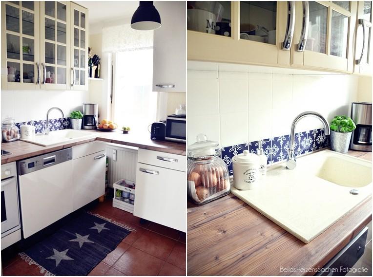 weiße Küche IKEA klein