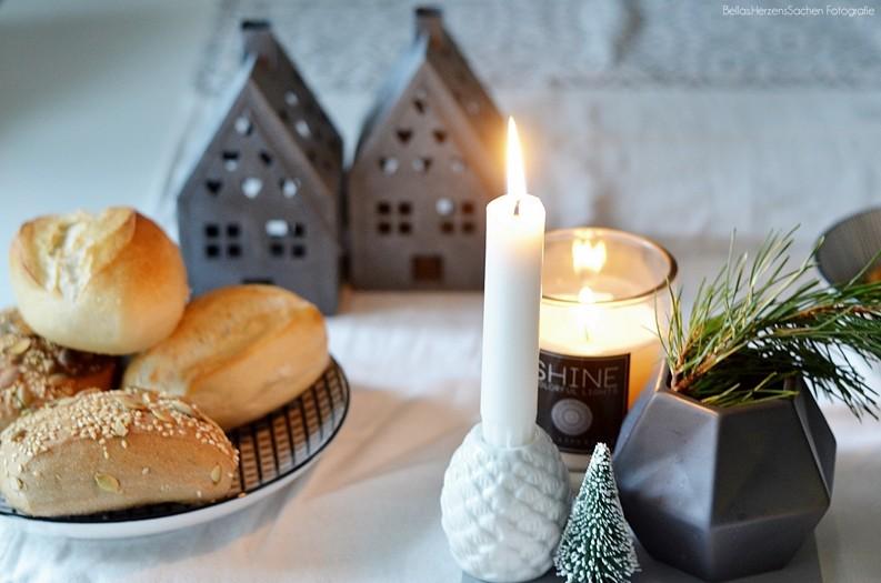 Weihnachtsfrühstück mit der Familie