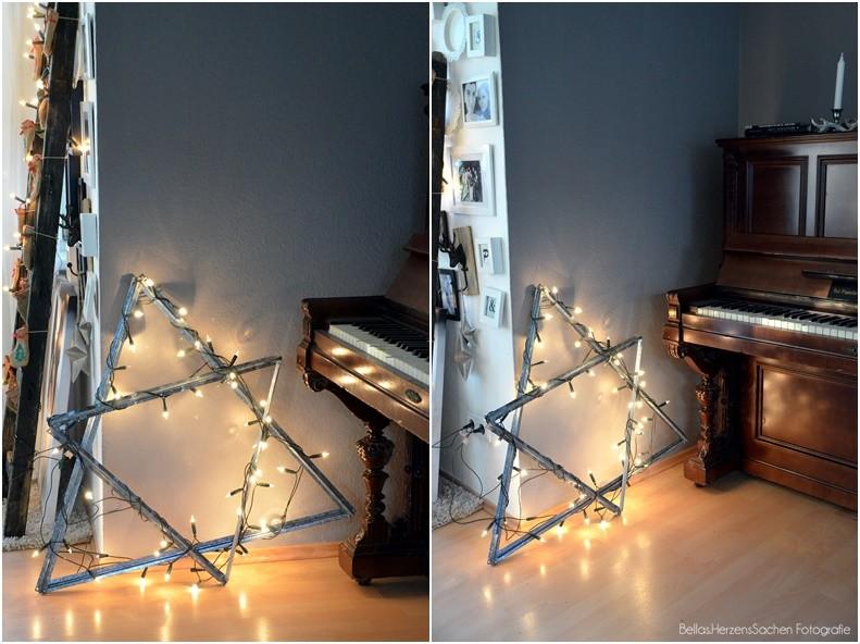 Weihnachtsstern DIY Metall