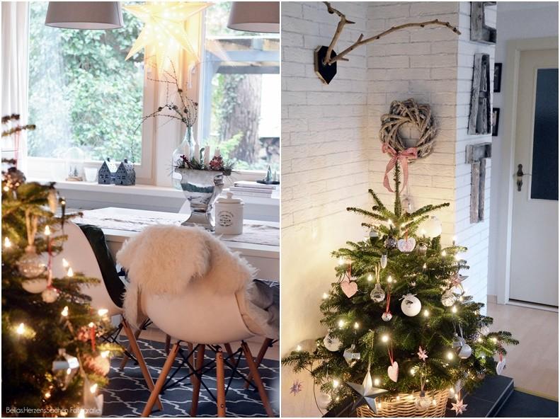 Weihnachtsbaum im Esszimmer