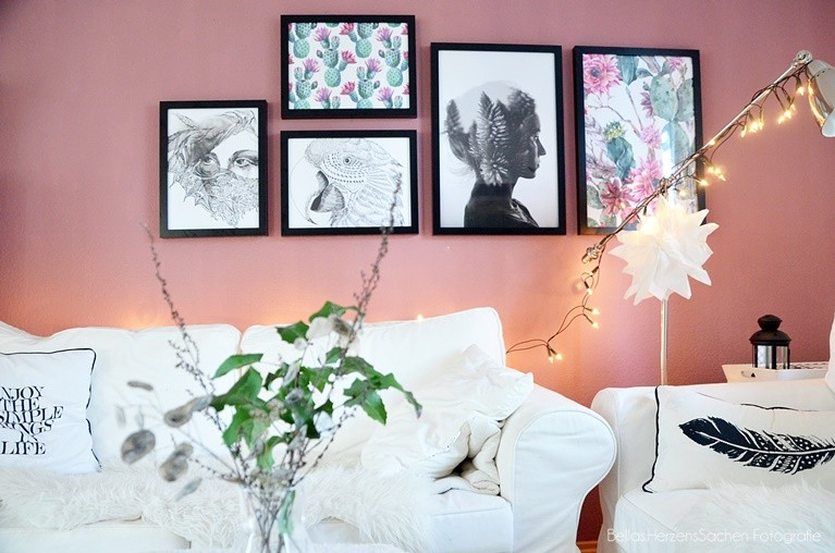 Wohnzimmer neu gestaltet