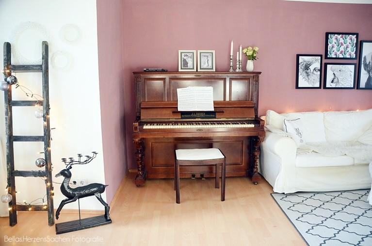 Wohnzimmer neu Farbe