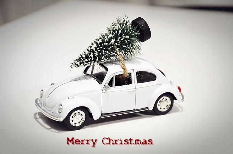 Auto Weihnachten