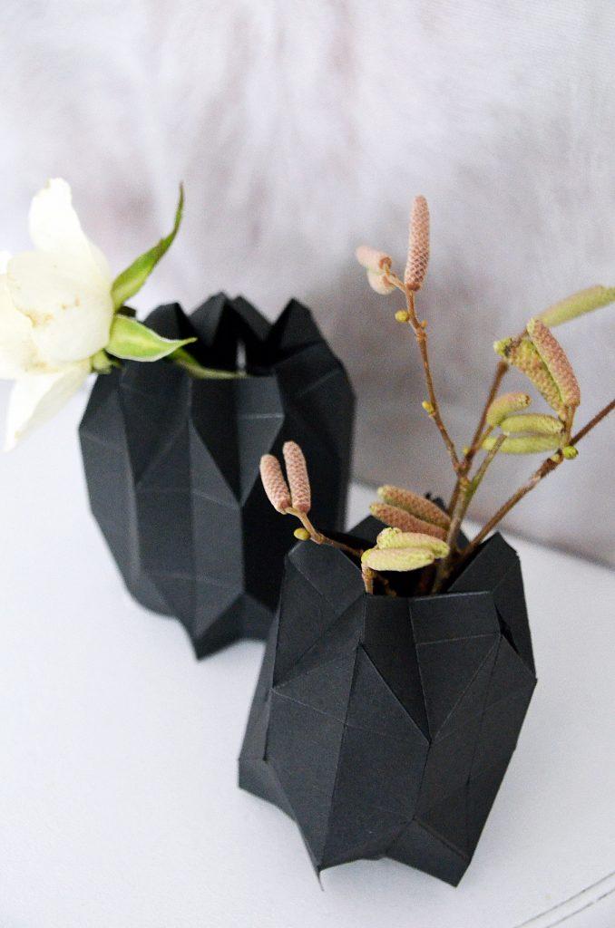 DIY Origamivase