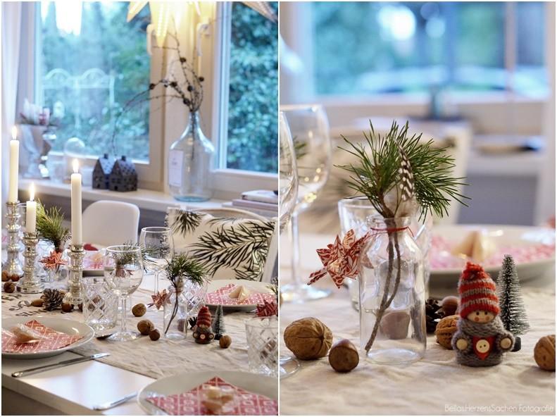 heiligabend dekoration tisch bellas herzenssachen. Black Bedroom Furniture Sets. Home Design Ideas