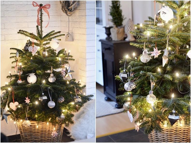 {22. Dezember} Unser Weihnachtsbaum