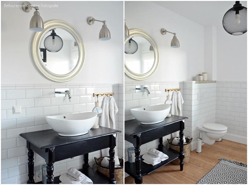 Badezimmer alter Waschtisch
