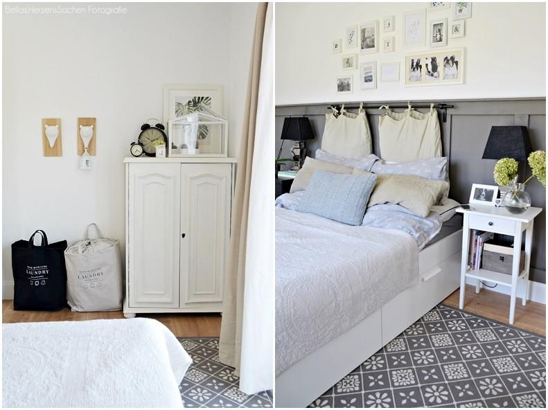 gemütliche Schlafzimmer französischer Landhausstil