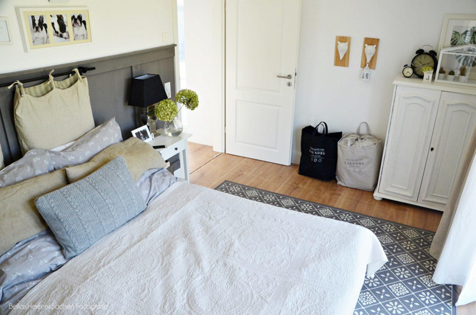 Franzosischer Landhausstil Im Schlafzimmer Bellas Herzenssachen
