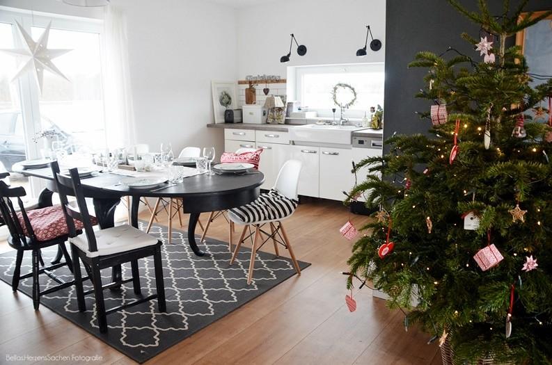 Weihnachtliches Esszimmer