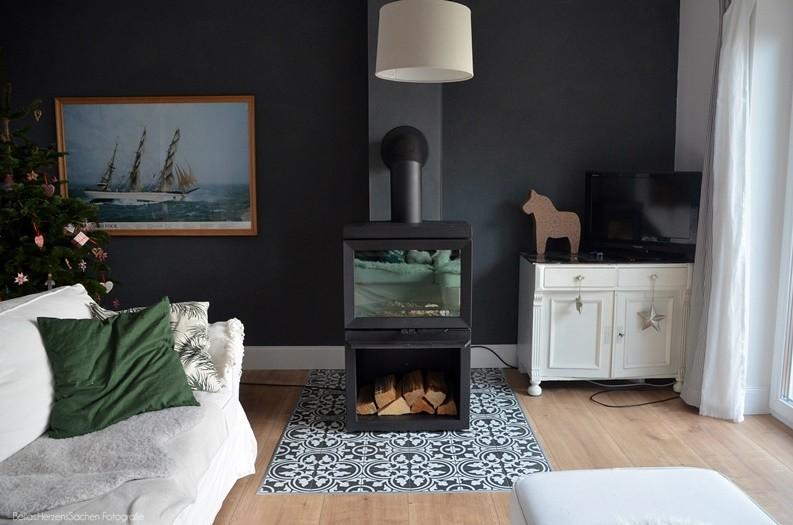 Schwedisches Wohnzimmer