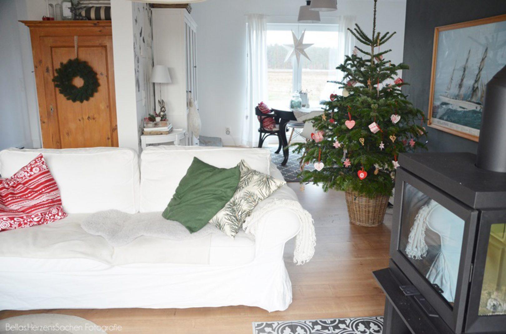 Wohnzimmer Hygge Weihnachtsdeko