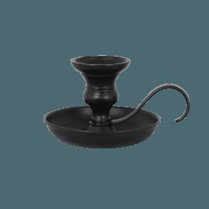 Schwarzer Kerzenhalter von Strömshaga