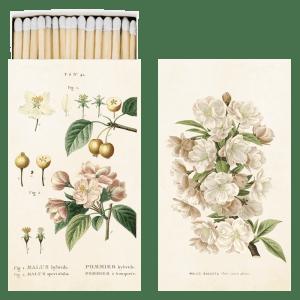 Vintage Streichholzschachtel Apfelblüte Sköna Ting