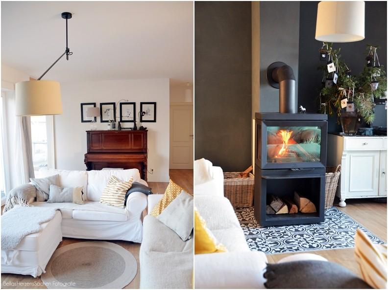 Gemütliches Wohnzimmer im Schwedenhaus