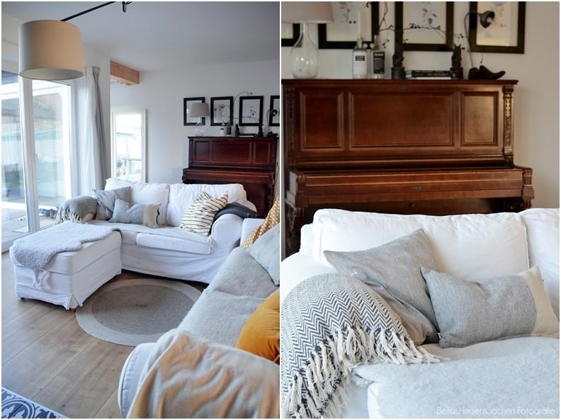 Gemütliches Wohnzimmer nordischer Stil