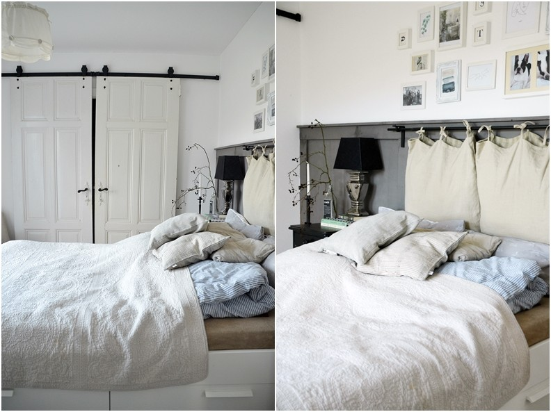 Skandinavische Natürlichkeit im Schlafzimmer