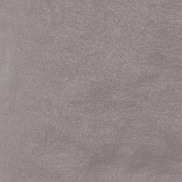 Leinenstoff Farbe Asche