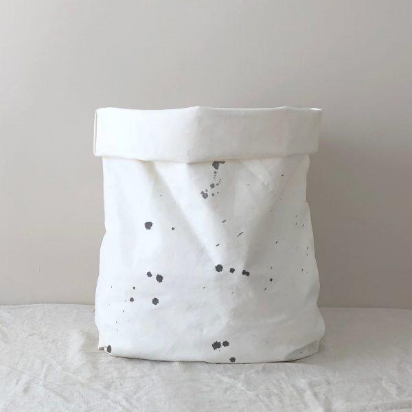 Wäschesack Papier gepunktet