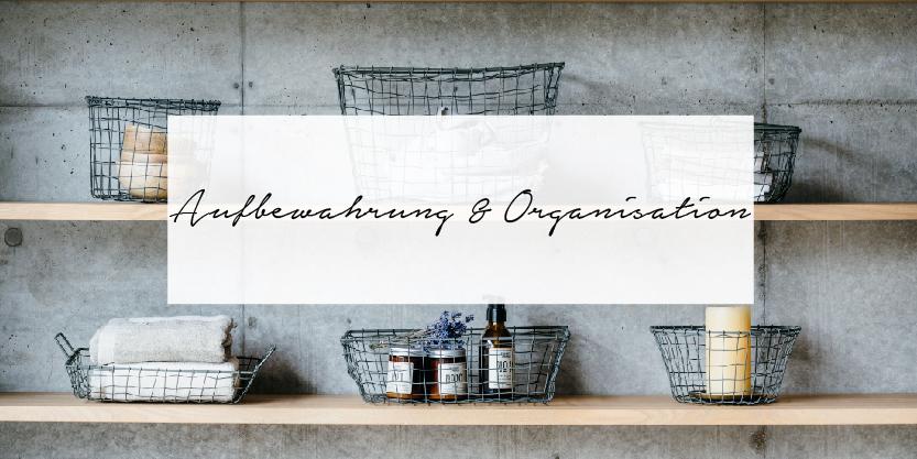 Aufbewahrung Organisation skandinavischer Stil