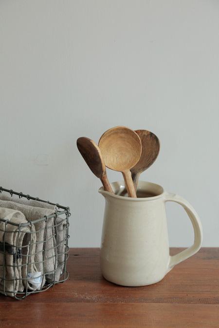 Nachhatiger Kochlöffel aus Mangoholz