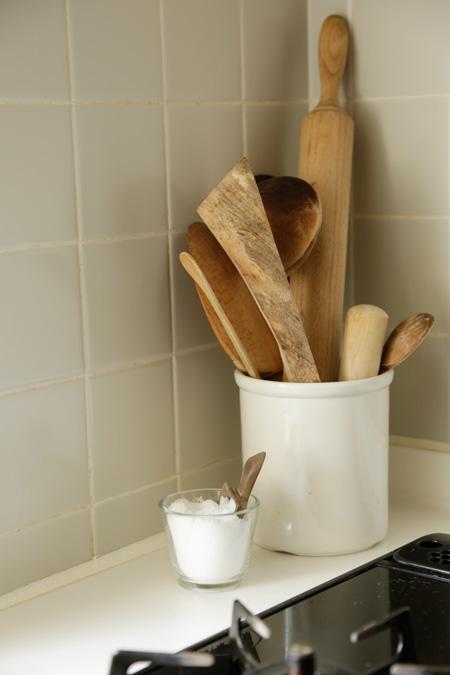 Nachhaltiger Pfannenwender Holz