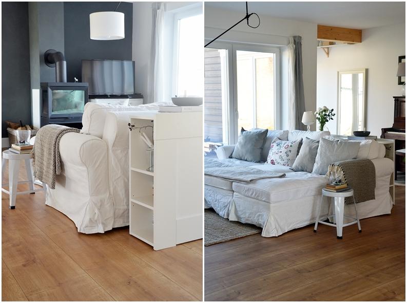Skandinavisches Design gemütlich Sofa Ikea Hack