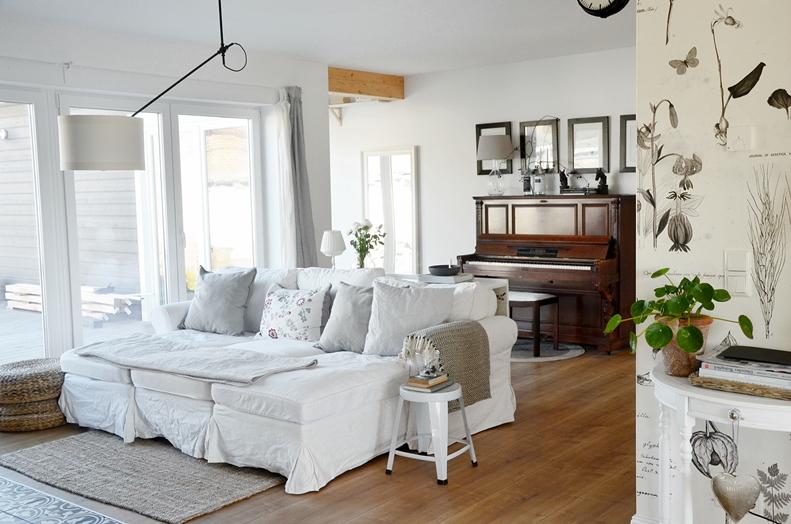 Sofa XXL skandinavisches Design gemütlich