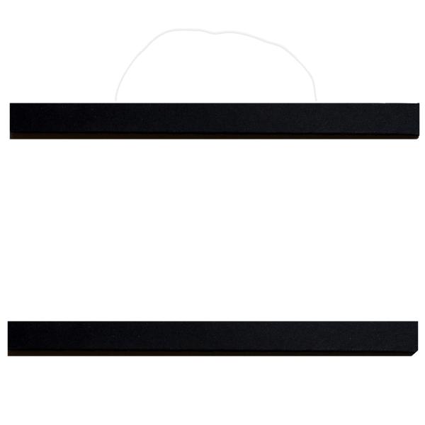 Posterleiste schwarz 50cm