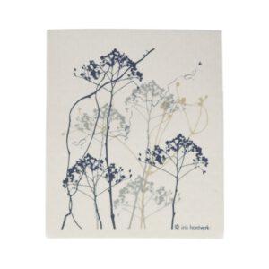 Spültuch Iris Hantverk Floral Wiederverwendbar Nachhaltig