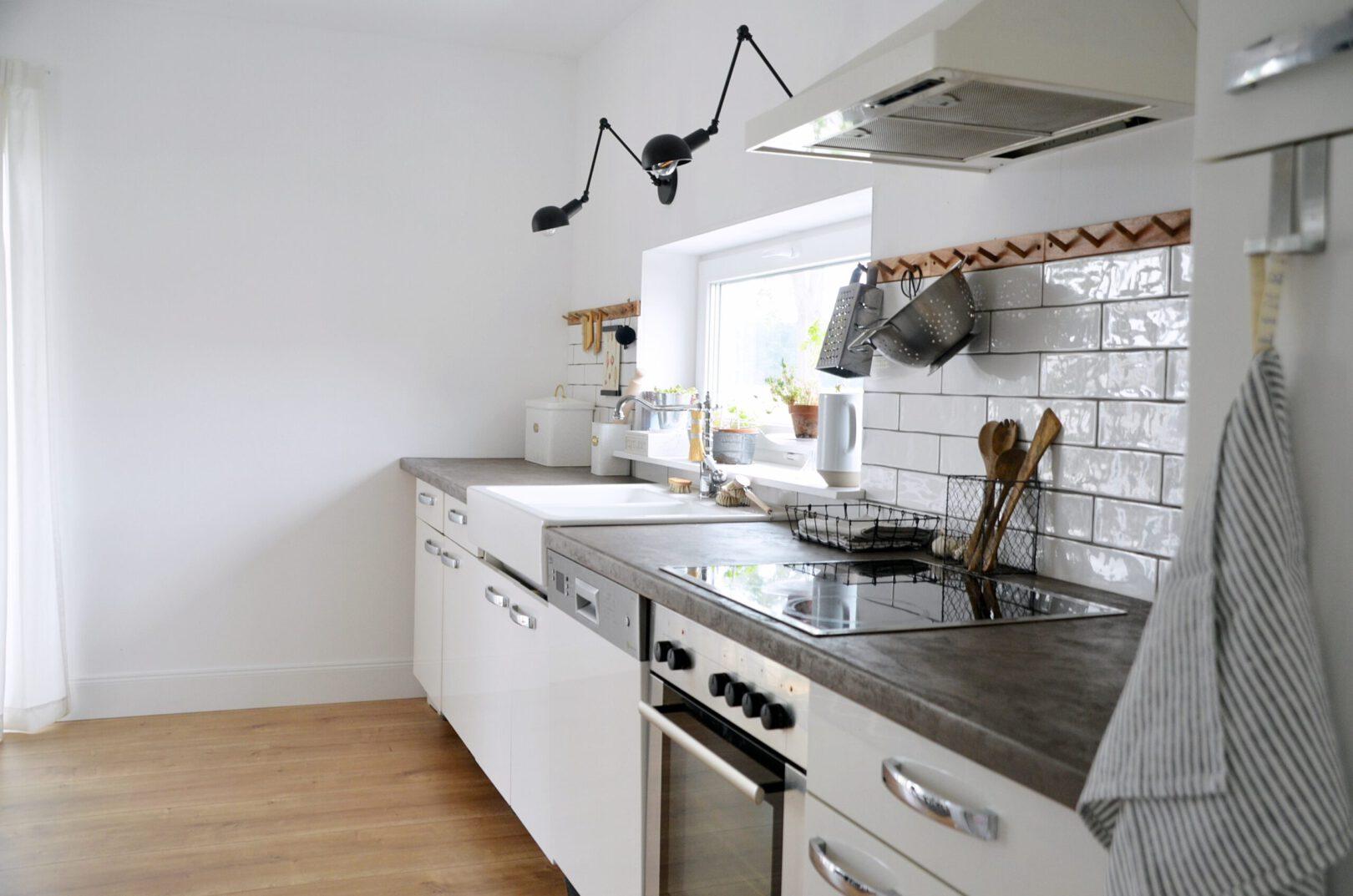 Skandinavische Landhausküche
