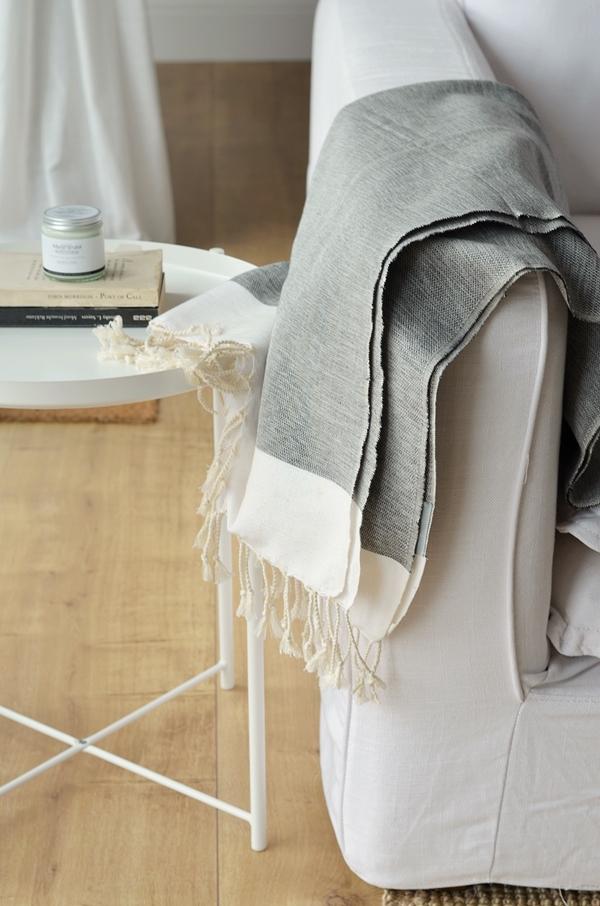 nachhaltige Decke aus Bambus