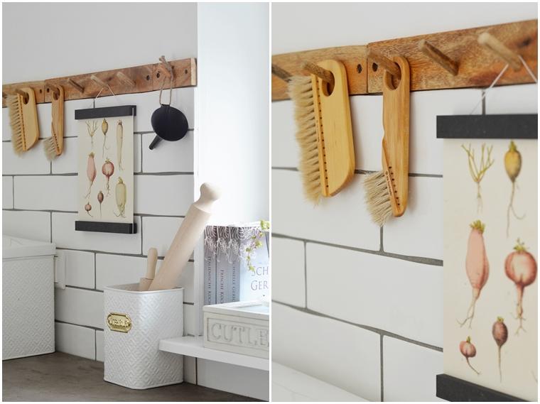 Nachhaltige Küchen Utensilien aus Holz