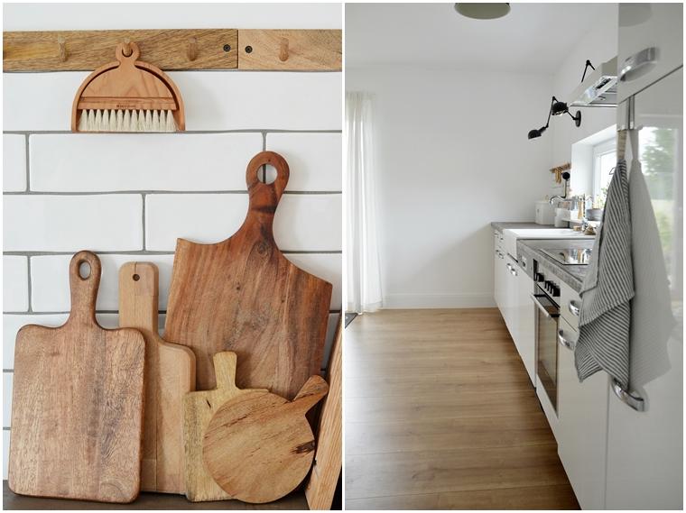 natürliche Landhausküche