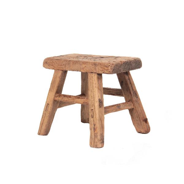 Holzhocker BellasHerzensSachen alt klein
