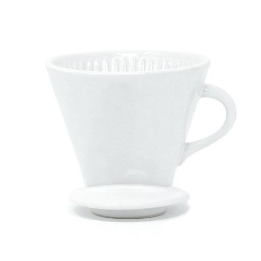 Kaffeefilter Keramik weiß fair nachhaltig