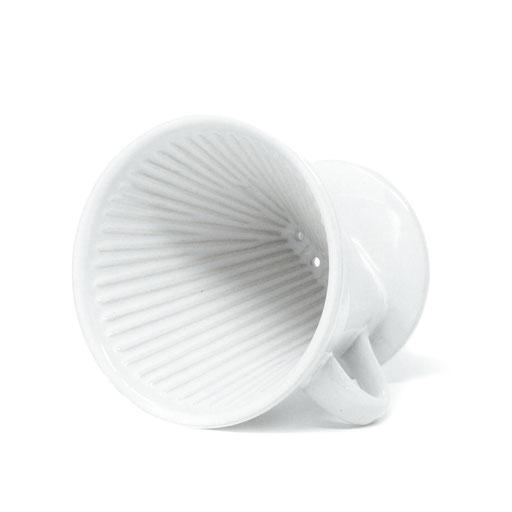 Kaffeefilter weiß Keramik nachhaltig