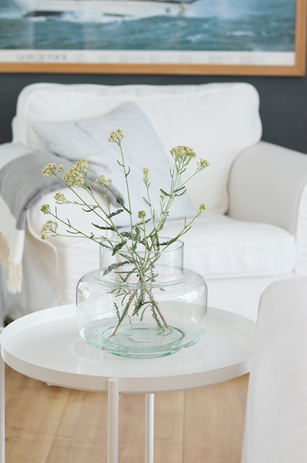 breite Vase recyceltes Glas UNC Amsterdam