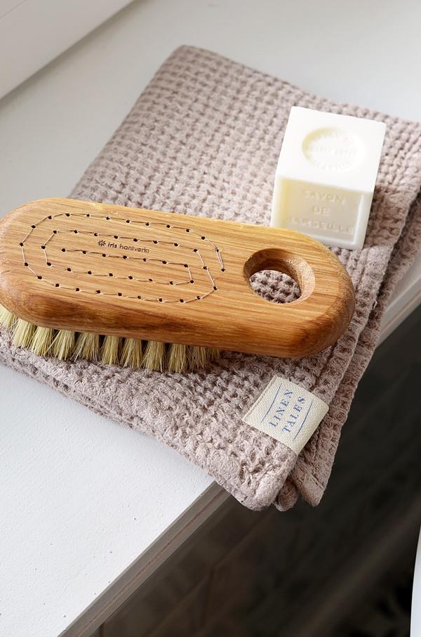 Badebüste Seife Handtuch nachhaltig