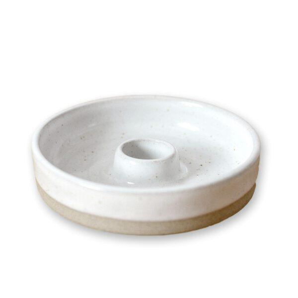 Kerzenhalter Keramik handgefertigt