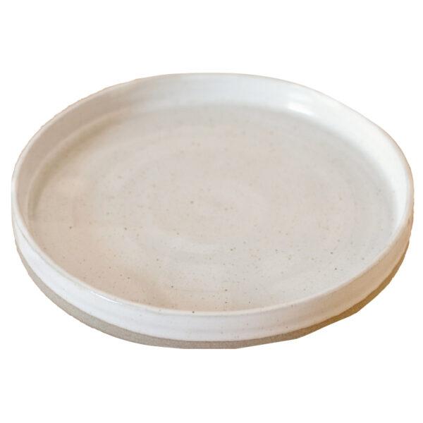 Platte Keramik handgefertigt