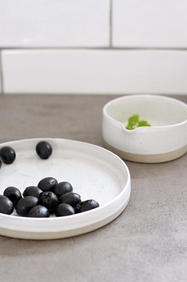 Schale Teller aus Keramik
