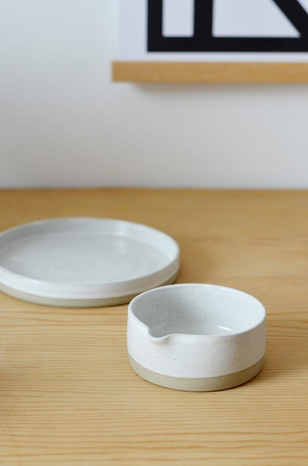 Schälchen Platte aus Keramik