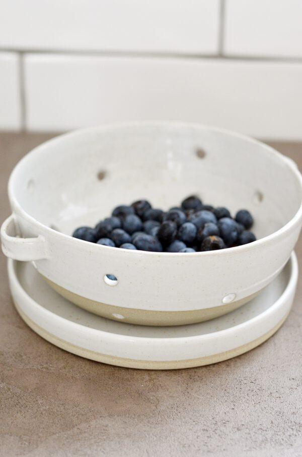 Keramik Sieb Tablett