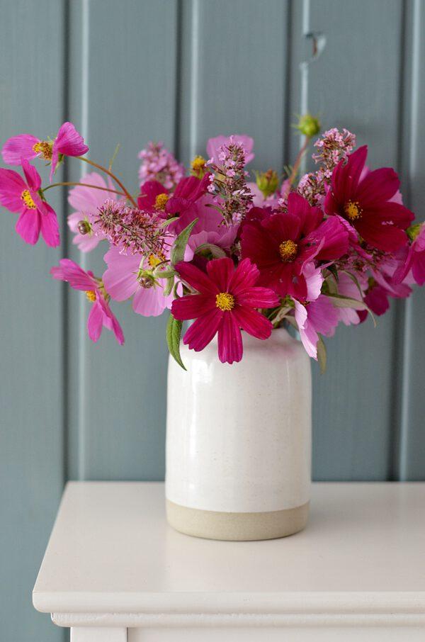 handgerfertigte Vase aus Keramik
