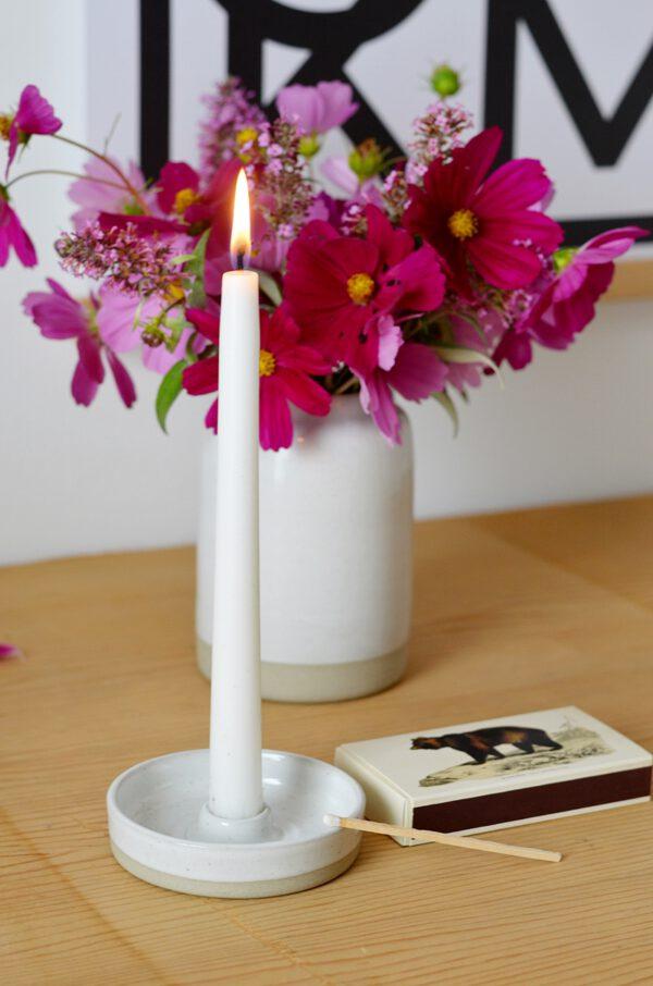 Kerzenhalter Vase Keramik Bellas.HerzensSachen