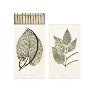 Vintage Streichholzschachtel Sköna Ting Blätter