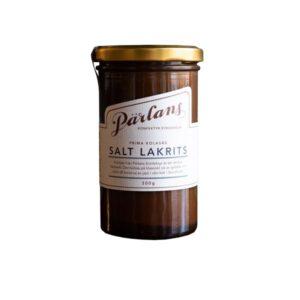 Karamellsauce mit gesalzenem Lakritz Pärlans