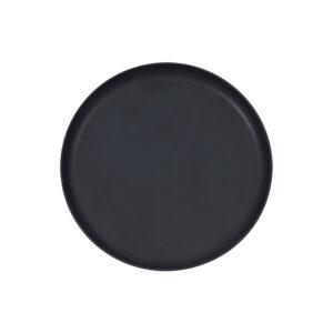 Dekoplatte schwarz