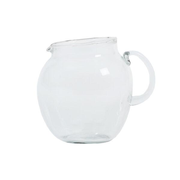Wasserkrug, recyceltes Glas